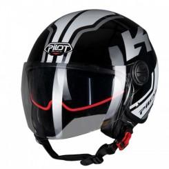 Кацига Pilot Fazer SV black/wh