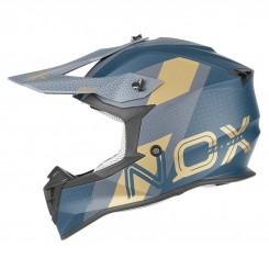 Кацига Nox N633 Viper Blue Gold