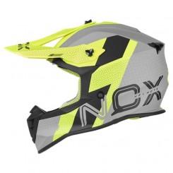 Кацига Nox N633 Viper Nardo Grey - Neon Yellow